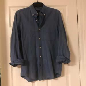 J. Crew oxford chambray shirt size small